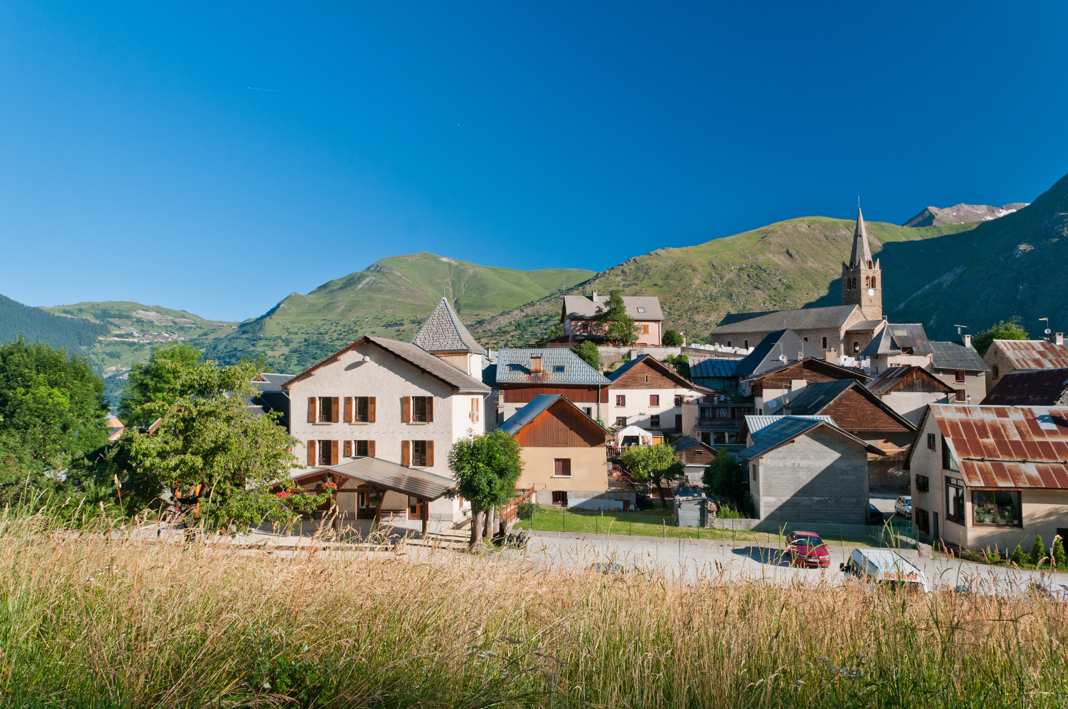 Les villages des 2 Alpes