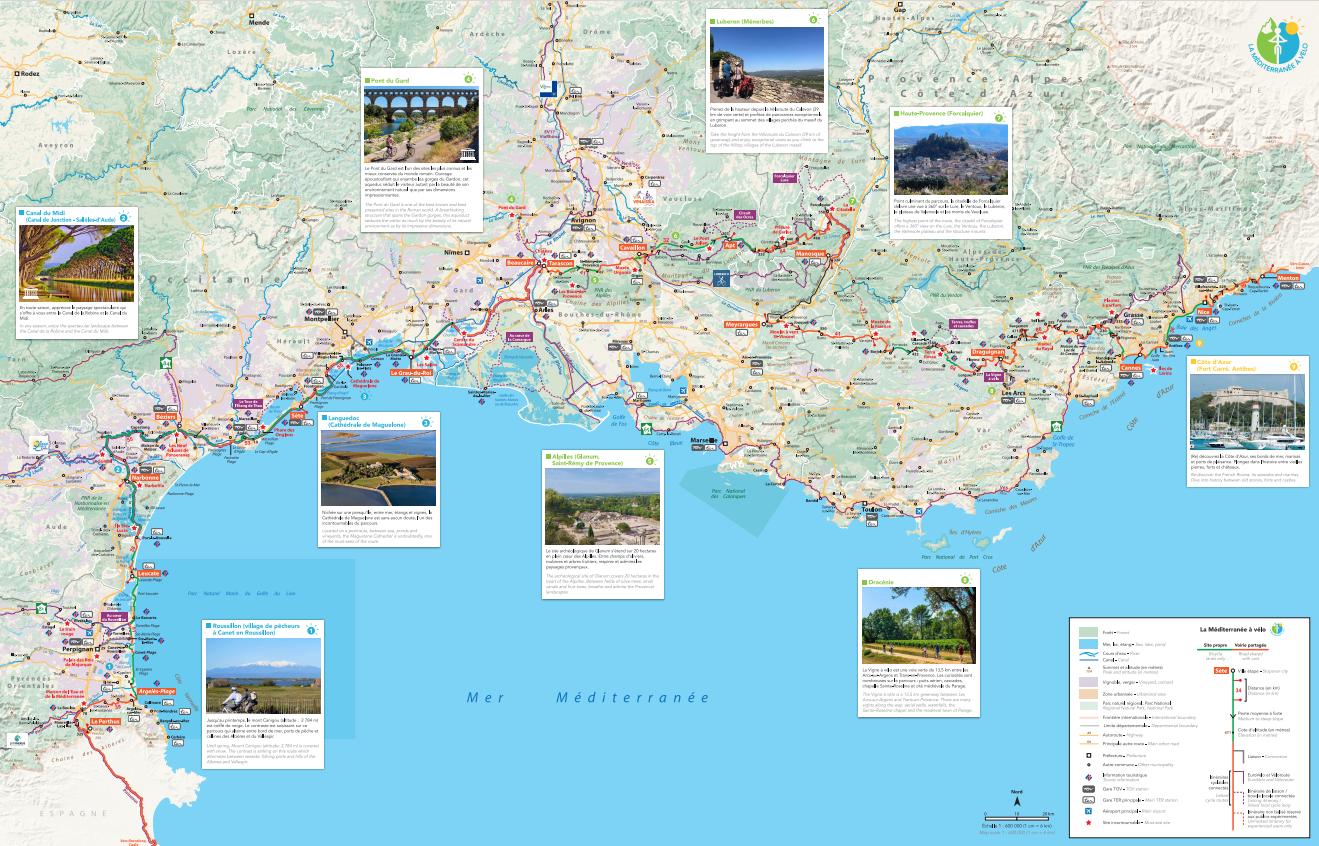 La Méditerranée à vélo