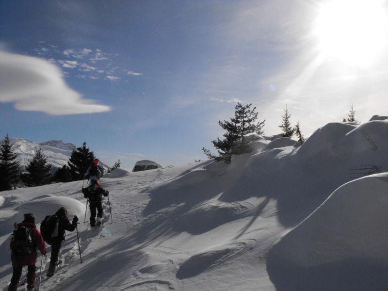 Détours en Montagne : rando raquettes à neige