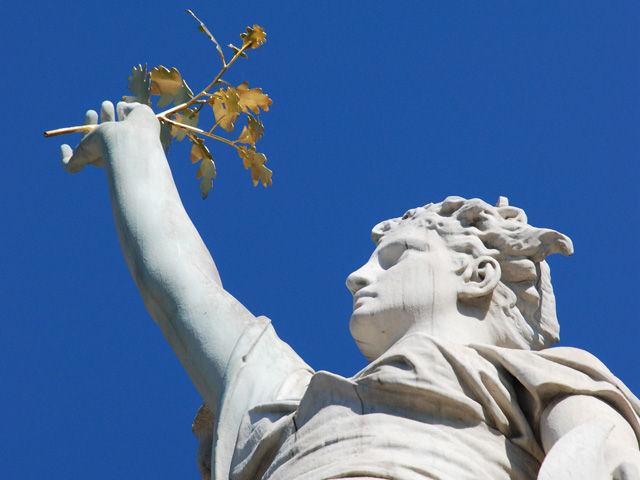 Statue La Marianne Vizille