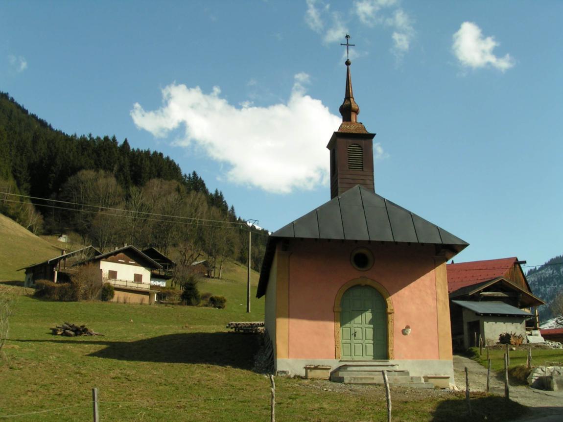 The Hamlet and Chapel of Praz