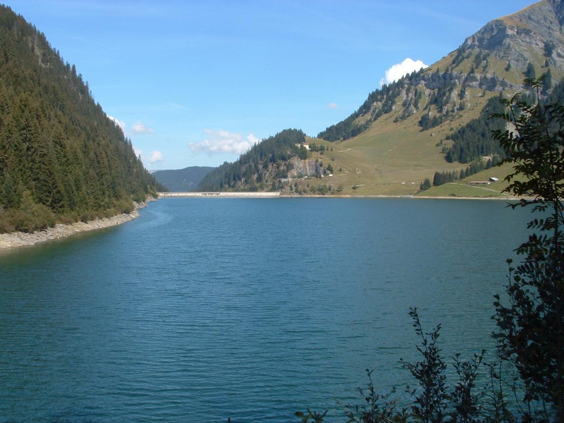 The Saint Guérin Dam