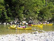 Canoë-kayak au Camping Les Acacias