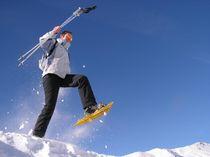 raquettes à neige st léger - © Bureau des accompagnateurs en montagne du Champsaur Valgaudemar