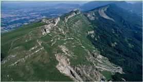 Ligne de crêtes Haute Chaîne du Jura