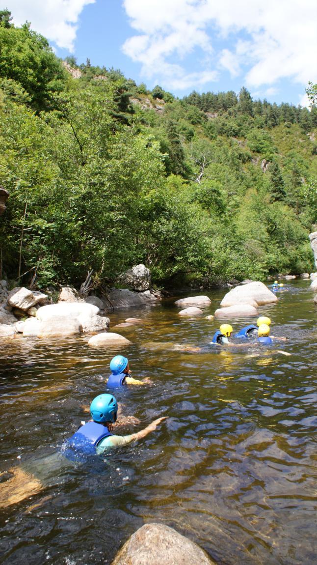 Ardèche sauvage : venez en Ardèche Buissonnière. : Randonnée aquatique
