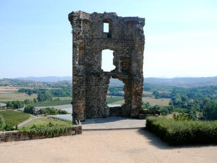 Nature & grands espaces : Point de vue de la tour de Châteauneuf-de-Vernoux
