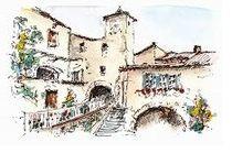 Visite gratuite du village de Lagorce - Lagorce