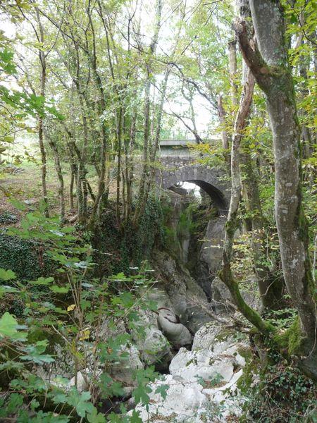 Les marmites et le pont du Pissieu