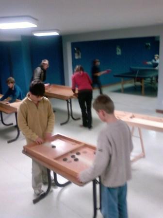 Jeux Traditionnels en bois à Arêches.
