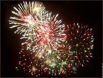 Fête Nationale - feux d'artifices - Aubenas