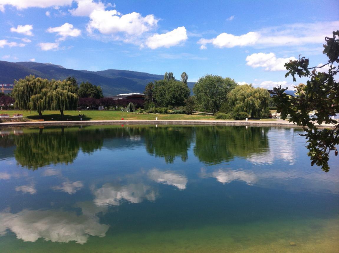 Le lac de Divonne