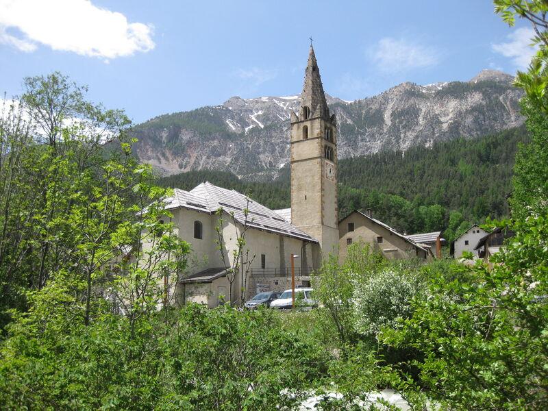 Eglise Saint Claude de Val des Prés - Vallée de la Clarée - © Camille LE CORRE