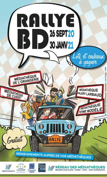 Rallye BD réseau des médiathèques