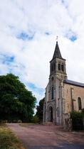 Église Saint Caprais Ⓒ CDT Allier