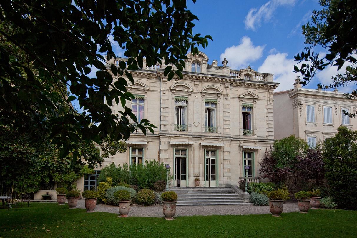 Musée Louis Vouland - façade jardin
