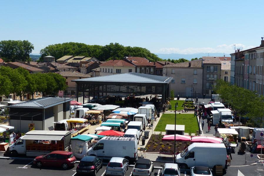 Grand marché hebdomadaire - Tournon-sur-Rhône