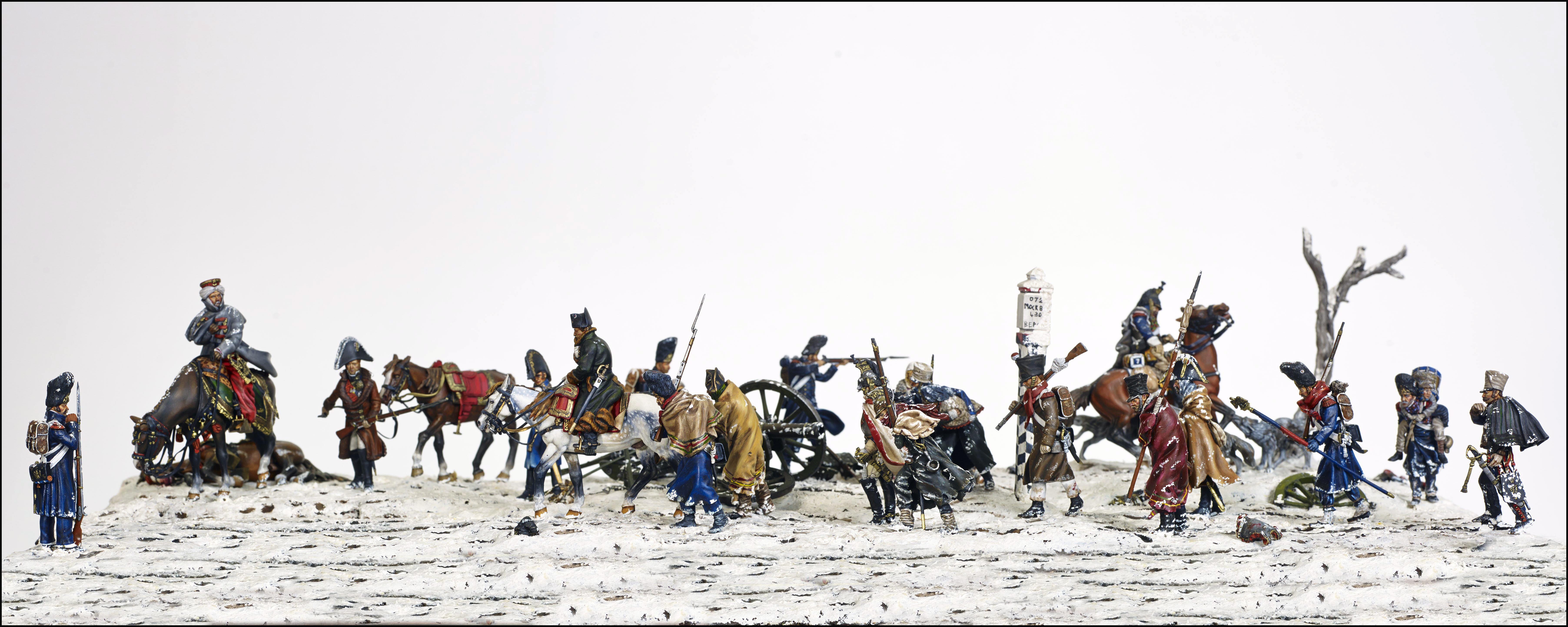 Figurines historiques d'art Reconstitution champ de bataille Ⓒ D2V Roanne - 2018