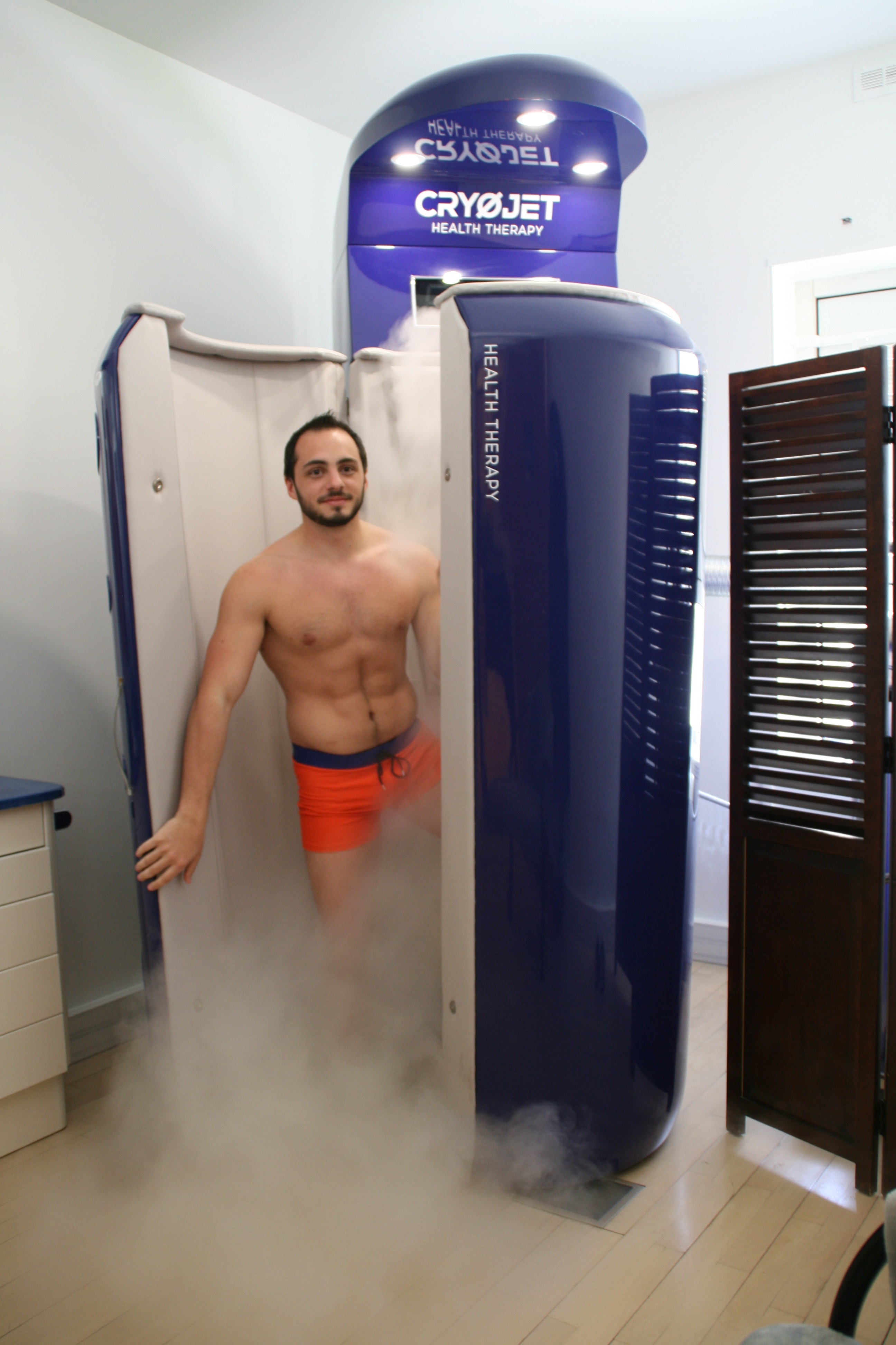Vichy Célestins Thermal Spa Cryojet health therapy Ⓒ Vichy Célestins Thermal Spa - 2018