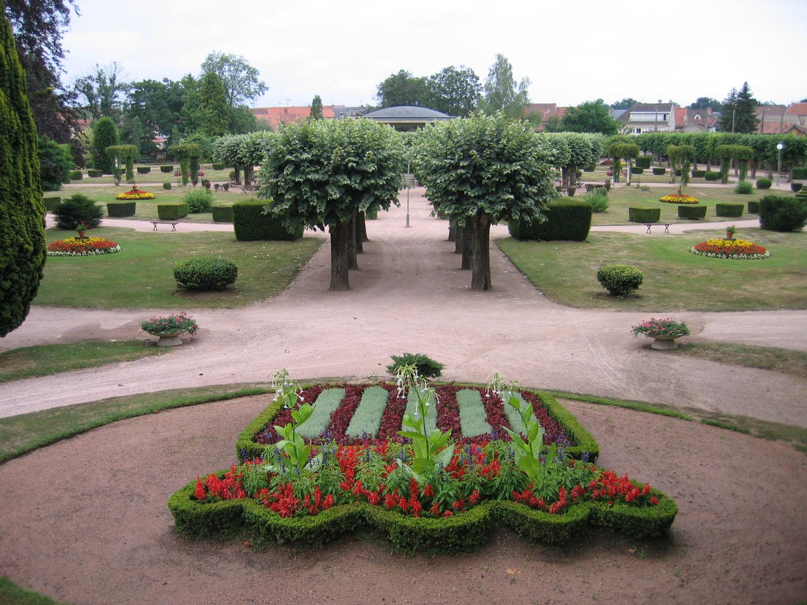 Parc floral - Lapalisse Parc floral Ⓒ @mairielapalisse2018