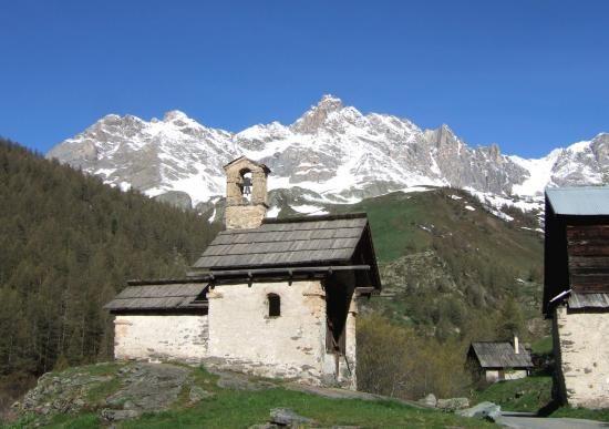 Chapelle Sainte-Marie de Fontcouverte - Névache - © ©Petit-patrimoine.com