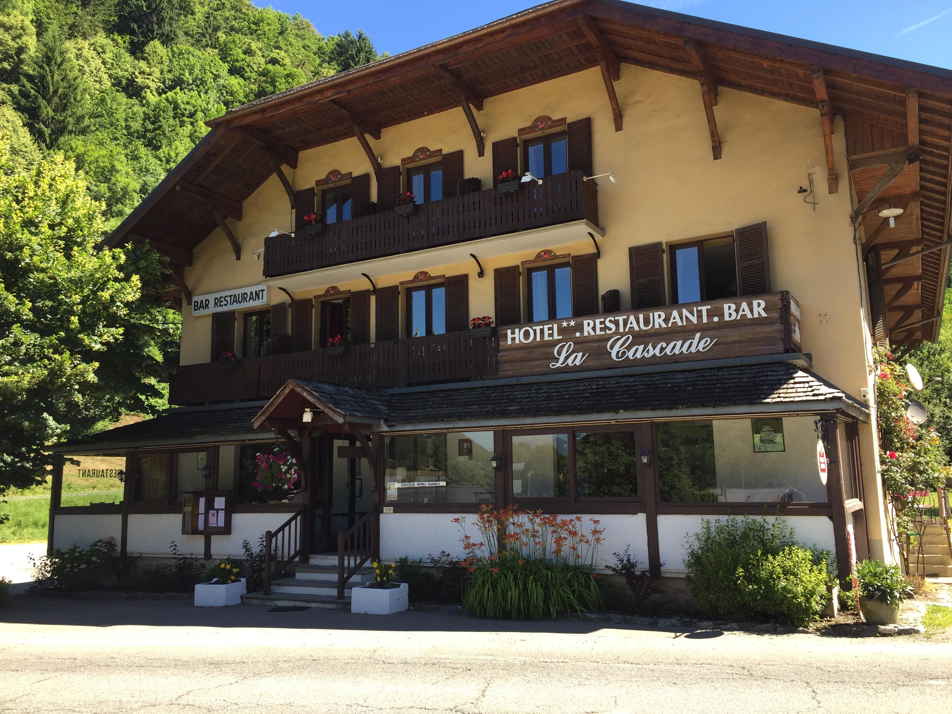 Restaurant la Cascade.
