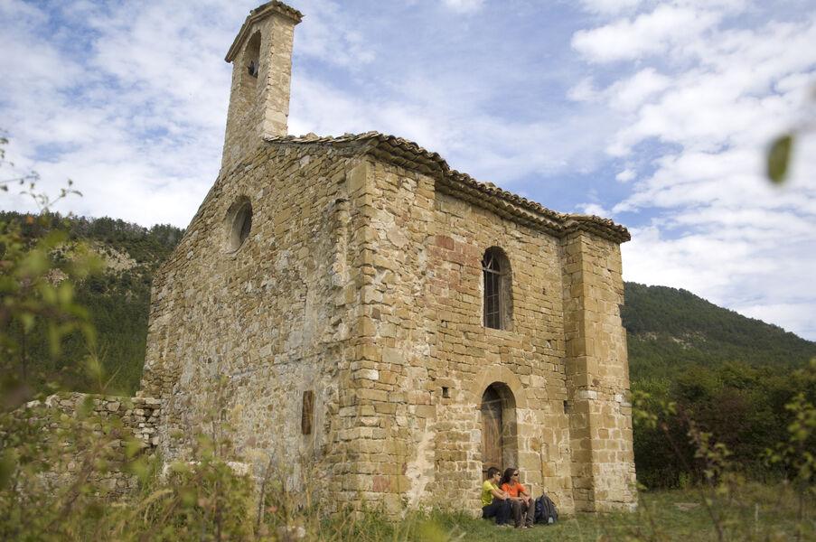 Église romane de Saint-Cyrice - © Eric Burlet