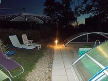 Coin piscine la nuit  Ⓒ Gîtes de France