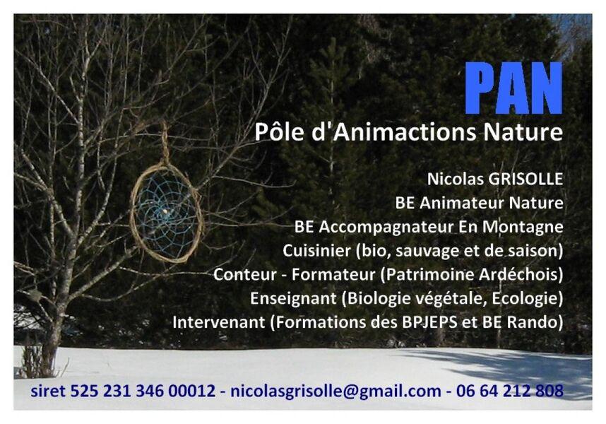 Rallyes Pédestres Surprises avec PAN - Nicolas Grisolle - Darbres