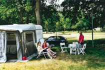 Camping municipal Emplacement Ⓒ Mairie Vallon-en-Sully