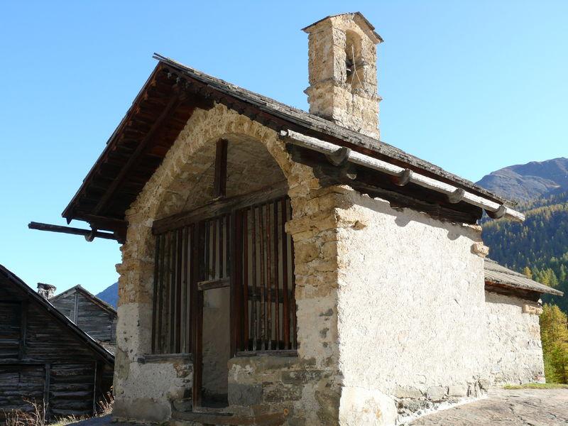 Chapelle Sainte-Marie de Fontcouverte - Névache - © ©Academic