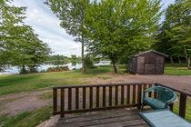 Camping des Écossais Vue sur l'étang Ⓒ Camping des Écossais - 2018