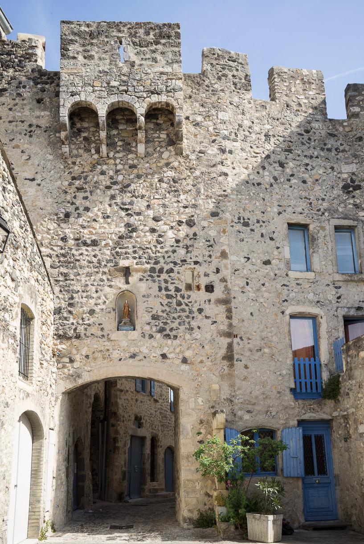 Porte sud du village fortifié
