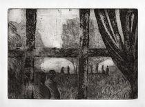 Peinture, dessin, gravure : Céline Excoffon Gravure à l'eau forte Ⓒ Céline Excoffon