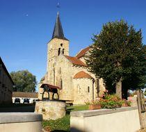 Eglise Saint-Loup - Saint-Hilaire Eglise Ⓒ Mairie St-Hilaire