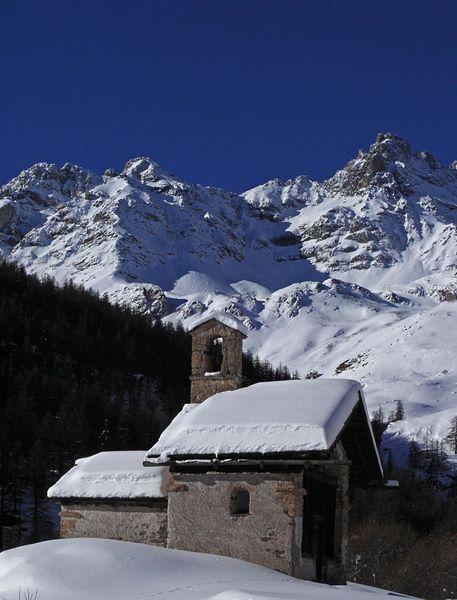 Chapelle Sainte-Marie de Foncouverte - vallée de la Clarée - © ©OTHV-Névache
