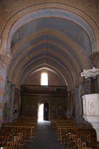 Eglise Saint-Loup - Saint-Hilaire Intérieur église Ⓒ Mairie St-Hilaire