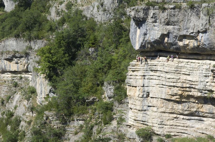 Via Ferrata des Gorges d'Agnielles - © Autrement Dit Communication
