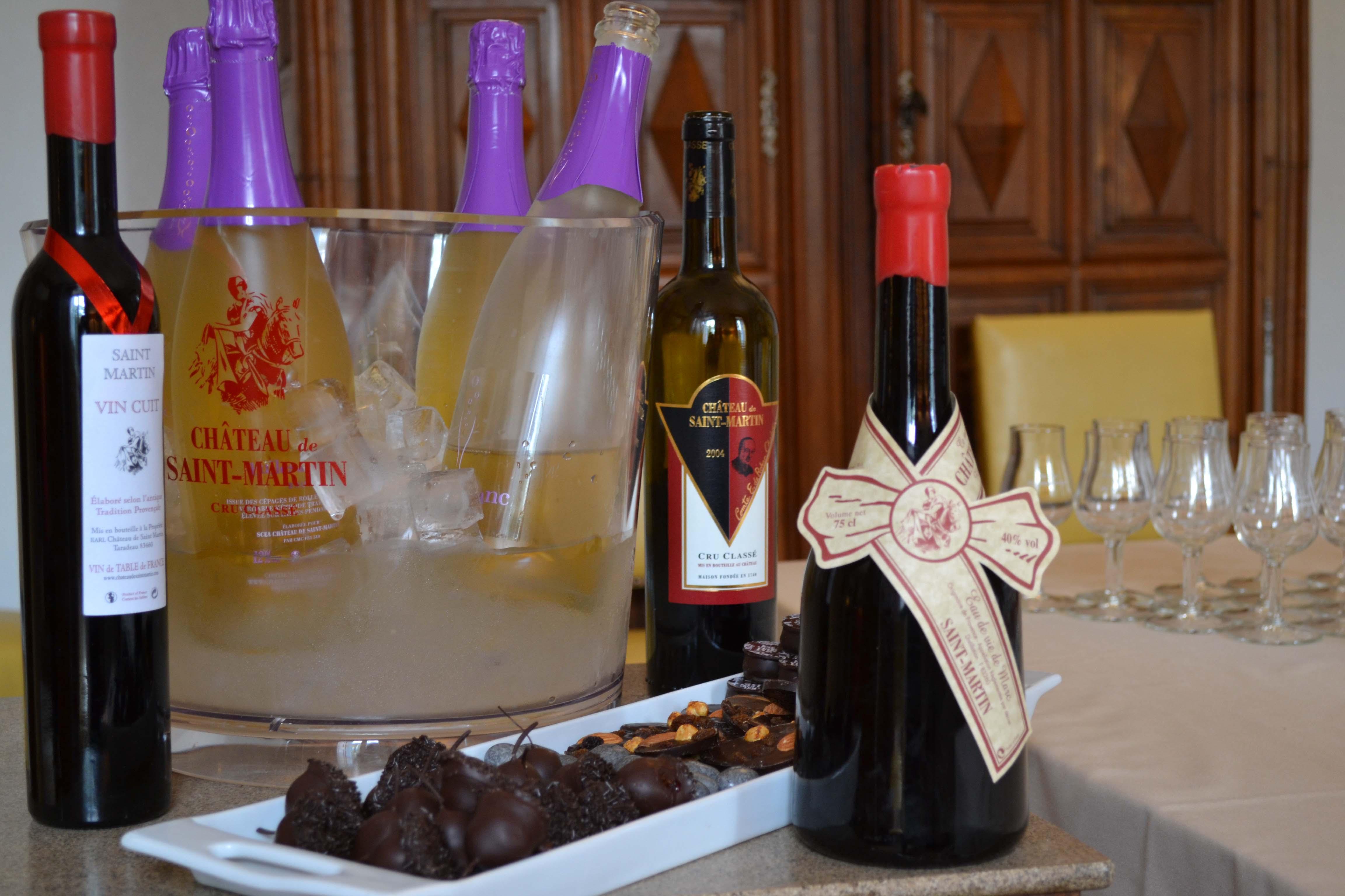 Dégustation de vins et chocolats