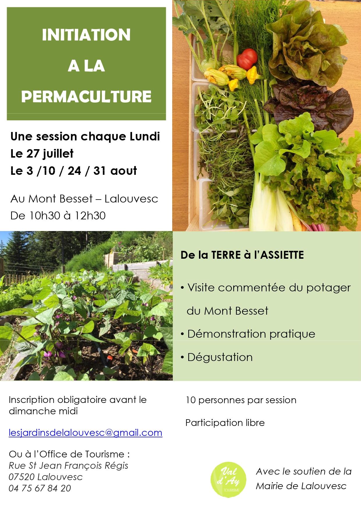 Initiation à la permaculture (Lalouvesc,Ardèche), Nature a
