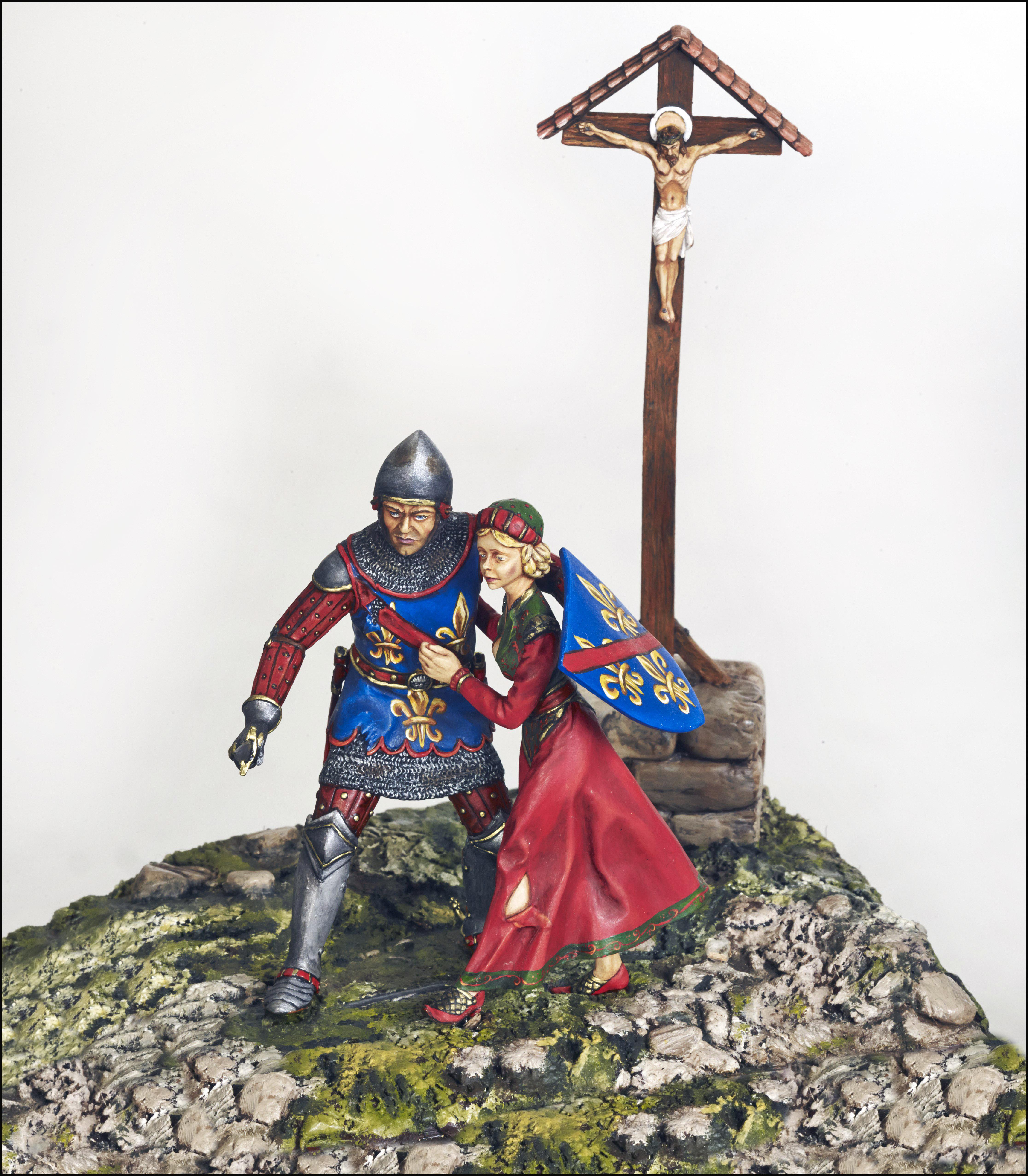 Figurines historiques d'art Ⓒ D2V Roanne - 2018