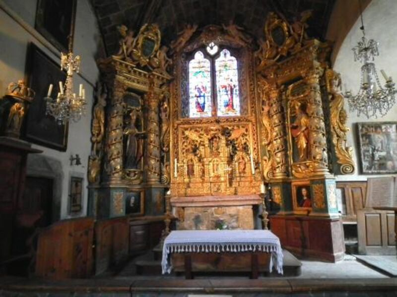 Eglise Saint-Marcellin de Névache - © ©Petit-patrimoine.com