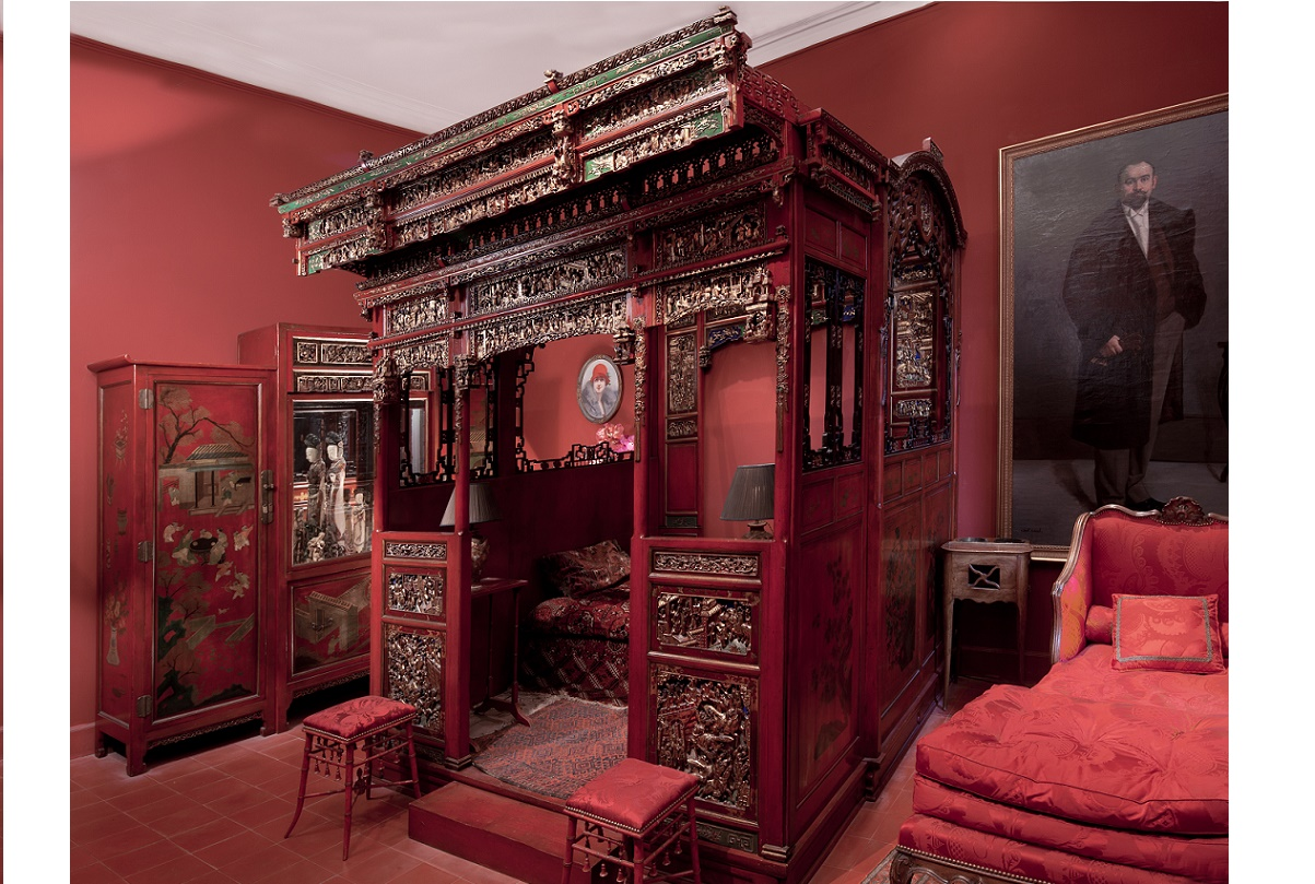 Musée Louis Vouland - Chambre chinoise