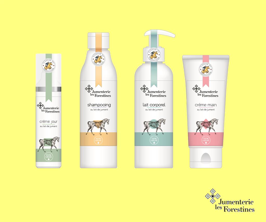 Jumenterie Les Forestines produits cosmétiques Ⓒ Jumenterie Les Forestines