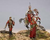 Figurines historiques d'art Mameloukcks Ⓒ Jérôme AUBANEL -2016
