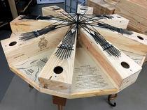 Atelier créatif à partir d'objets recyclés : Instruments d'étonnants géants - Uzer
