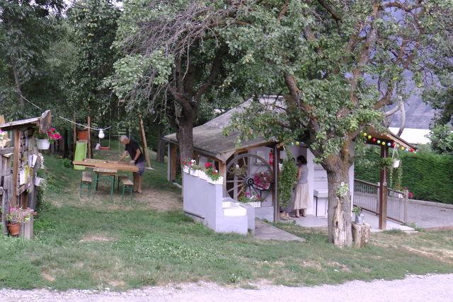 Camping à la ferme Les Pommiers