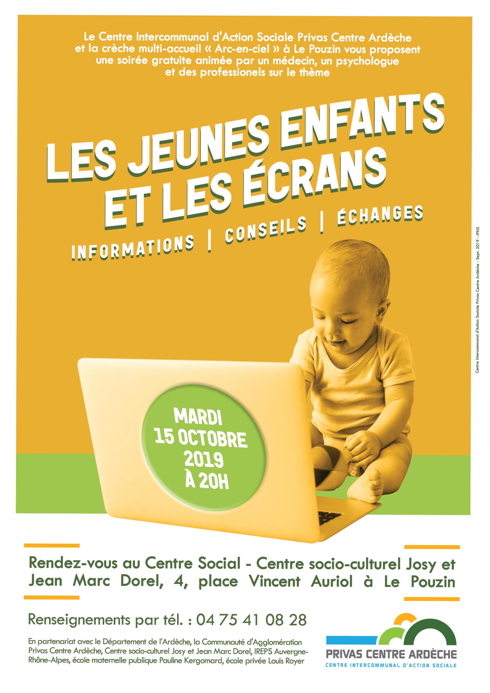 Informations, conseils & échanges : Les jeunes enfants et les écrans