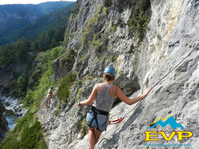 Via ferrata - © Eau Vive Passion