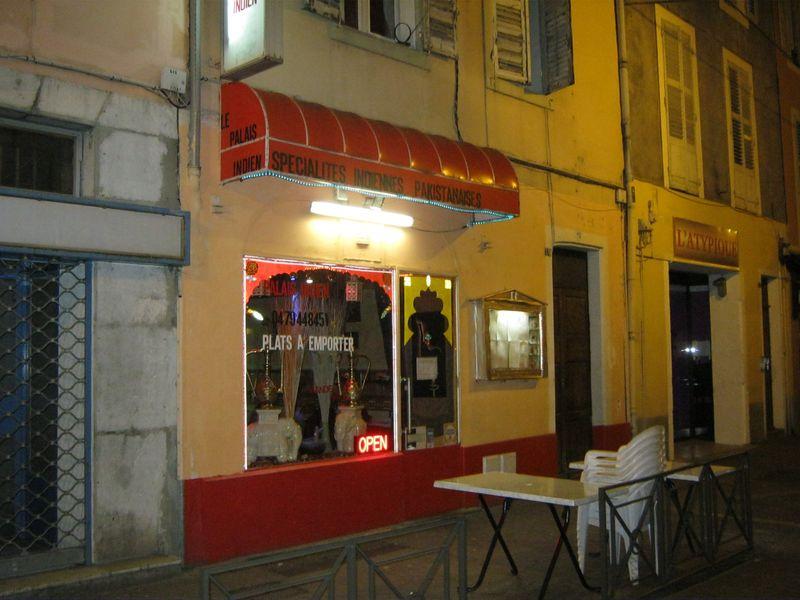 Restaurant le Palais Indien à Chambéry